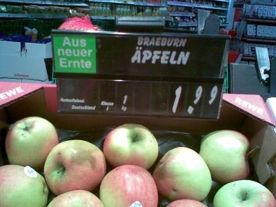 Aepfeln