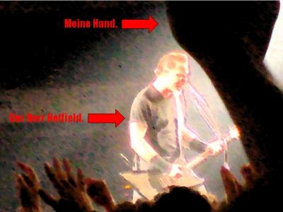 Der Herr Hammett in Frankfurt.